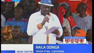 Raila Odinga claims DP Ruto and President Uhuru are out to destroy judiciary and devolution