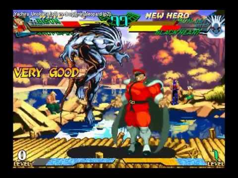 OMEGA DESTROYER !! Featuring Marvel Super Heroes vs Street