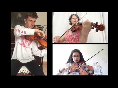 """Vidéo - """"Pièces pour trois altos » de Claude Henry Joubert"""