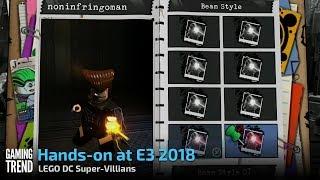 LEGO DC Super-Villains - Let's Play at E3 - PS4 - [Gaming Trend] - dooclip.me