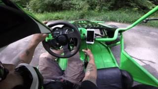 Off Road Mini Buggy Kawasaki Ninja 250
