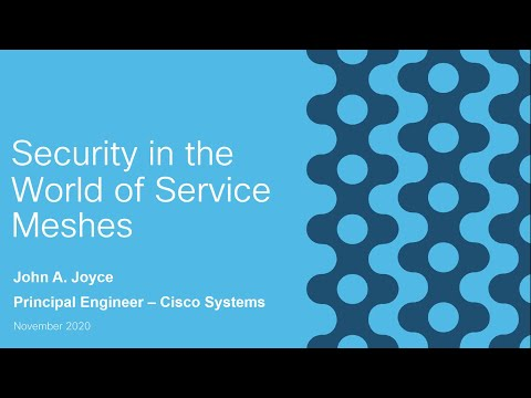 Security in the world of service meshes