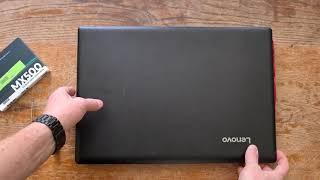Lenovo Ideapad 110-17IKB - SSD Einbau - HDD replacement