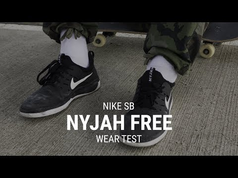 Nike SB Nyjah Free Skate Shoes Wear Test Review – Tactics.com