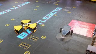 Tombstone vs. Radioactive - BattleBots