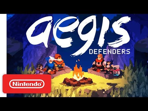 Aegis Defenders Trailer – Co-op Platforming Meets Tower Defense - Nintendo Switch