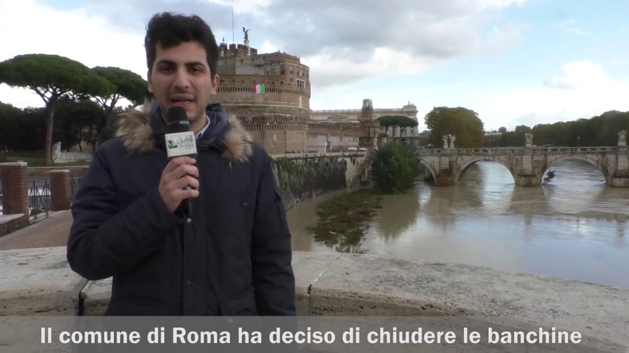 Ancora danni per il maltempo a Roma