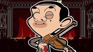 Violin Bean | Funny Clips | Mr Bean Cartoon World