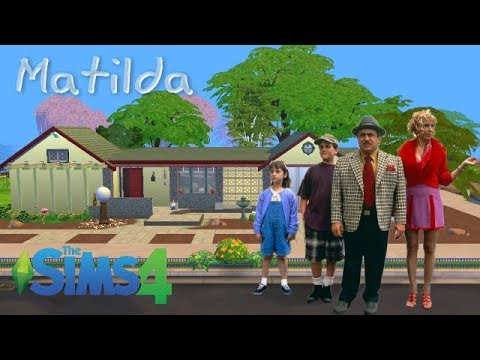 Matilda Movie  House    The Wormwood's    The Sims 4    NO CC + Download link!