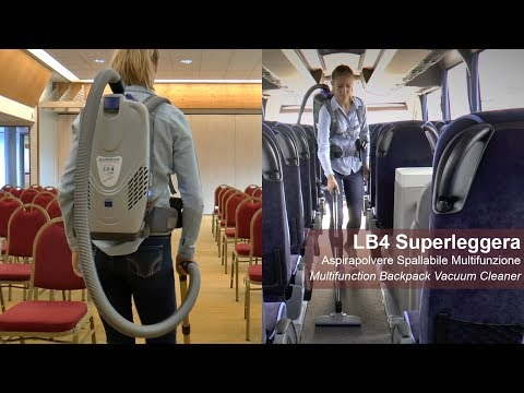 Lindhaus LB4 Superleggera Aspirapolvere a zaino / Backpack Vacuum Cleaner