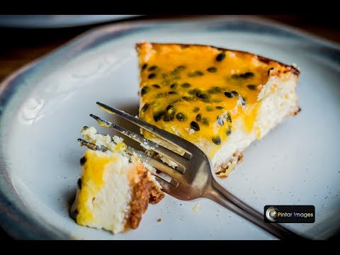 How to make Cheesecake with Passionfruit topping