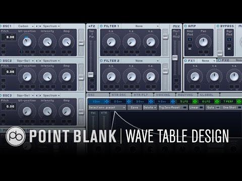 NI Massive: Synthesis & Sound Design Pt 2 – Wave Tables in Massive