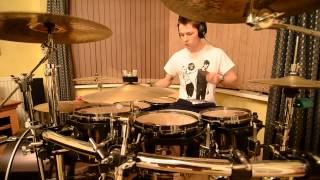 The Dollyrots - Twist Me To The Left (Drum Cover/Improv)