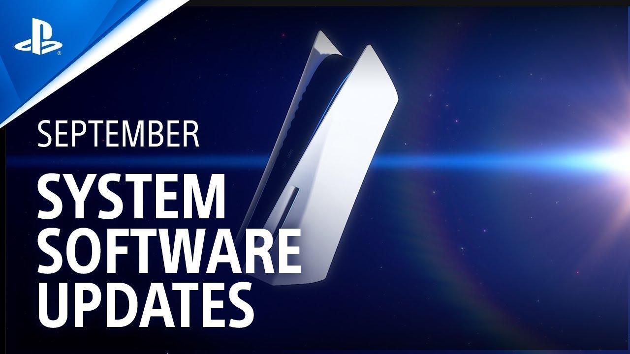 A atualização de setembro do sistema do console PS5 chega amanhã