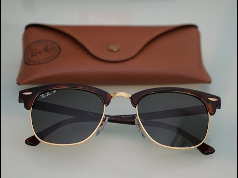 Iconic Sunglasses | Ray-Ban Clubmaster Classic | RB3016 W0366 | Mock Tortoise | Polarized | Review |