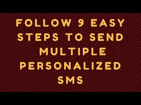Best sms sender software to Send  Multiple Personalized  SMS