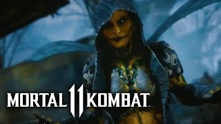 Mortal Kombat 11 -  Official Kitana & D'Vorah Reveal Trailer