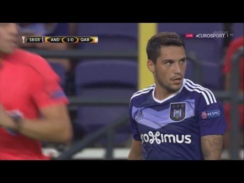 Nicolae Stanciu vs FK Qabala (Home) FULL HD 1080p (15/09/2016)