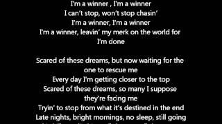 Taio Cruz - Winner (lyrics)