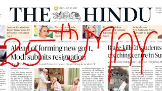 THE HINDU NEWSPAPER TODAY PDF - Assignment abroad times