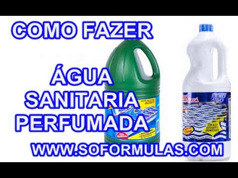Água sanitária Perfumada
