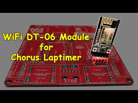 WiFi module for Chorus Laptimer | запчасти к засечке для дрон рейсинга