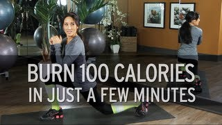 How to Burn 100 Calories in Just a Few Minutes