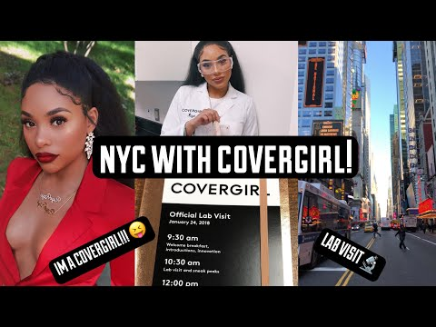 COME WITH ME TO NYC WITH COVERGIRL! VLOG