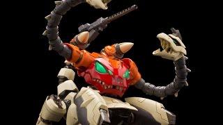 千值練×永井豪METAMOR-FORCE恐龍蓋特3號DinoGetterT-REX完全變形開箱