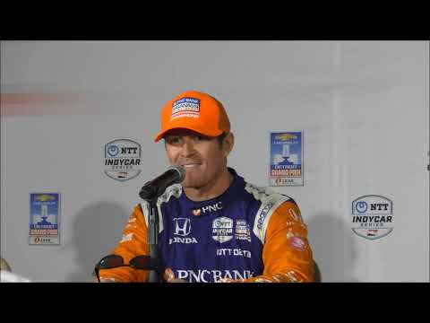 2019 IndyCar Detroit GP Race 2 Press Conference