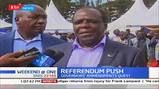 Governors to soon launch another quest for a constitutional change