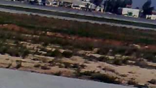 preview picture of video 'هبوط طائرة في مطار حلب الدولي'