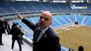 """Как выглядит стадион """"Зенит-Арена"""" прямо сейчас"""