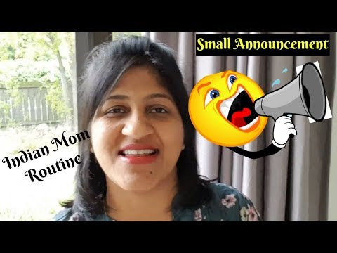 Small Announcement | Indian Mom Routine | Dropping my Mom to Airport | What I did today vlog
