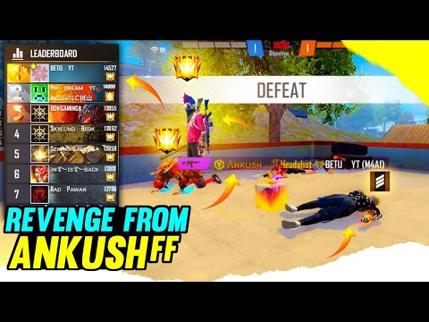 TOP 1 GLOBAL PLAYER IN MY GAME   ANKUSH FF IN MY MATCH   TEAM UP WITH ANKUSH FF   I KELLED ANKUSH FF