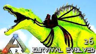 ARK: SURVIVAL EVOLVED - PRIMAL SPINOSAURUS !!!   PUGNACIA DINOS EBENUS ASTRUM E26