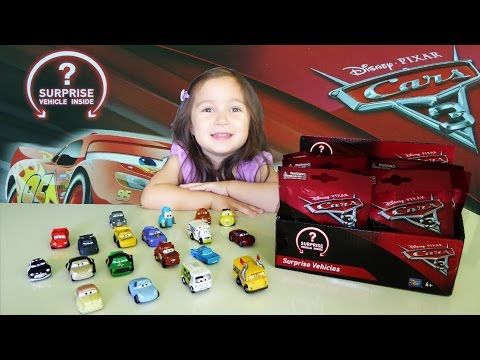 Disney Cars 3 Movie  - New Characters Revealed Blind Bags & Surprise Toys