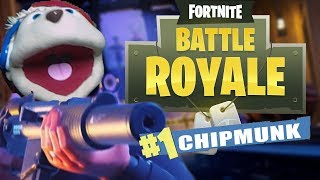 FIRST CHIPMUNK *EVER* TO WIN FORTNITE BR | Fortnite: Battle Royale!