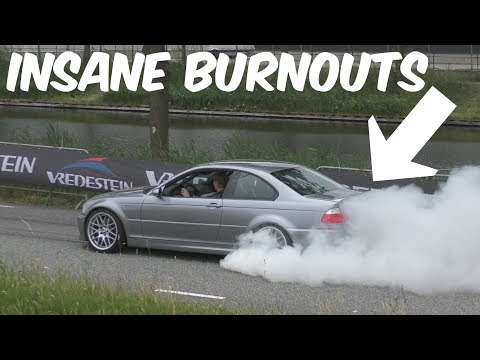 Cars Leaving Cars & Coffee Twente 2018-BURNOUTS!