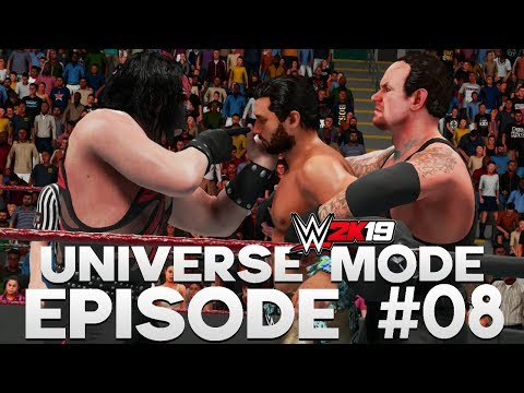 WWE 2K19 | Universe Mode - 'VENGEANCE PPV!' (PART 2/4) | #08