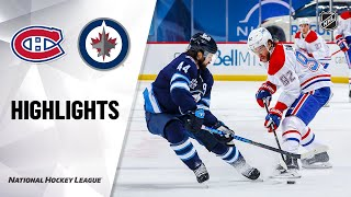 Canadiens @ Jets 2/27/21 | NHL Highlights by NHL