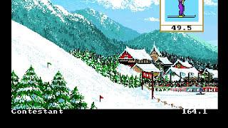 Winter Games (Commodore Amiga)