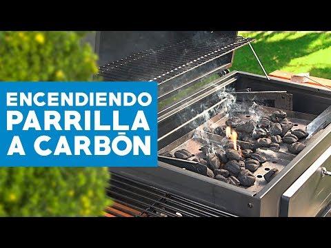 Técnicas para prender una parrilla a carbón
