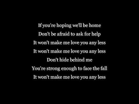 Rag'n'Bone Man -  Love You Any Less -  Lyrics