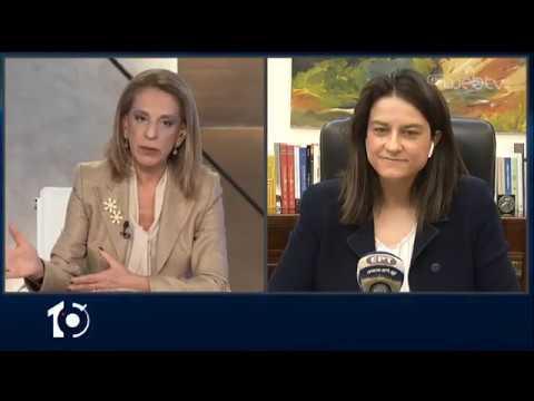 Η υπουργός Παιδείας, Νίκη Κεραμέως, στο «10» | 10/03/2020 | ΕΡΤ