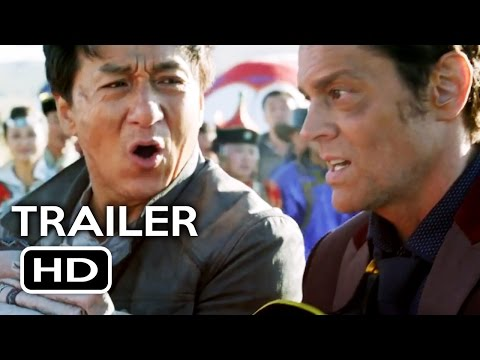 Skiptrace Official Trailer #1 (2016) Jackie Chan, Johnny Knoxville Action Comedy Movie HD