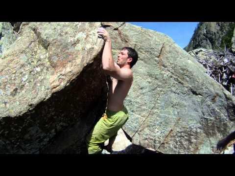 Boulder colle della Lombarda - Non mi odiare 6c