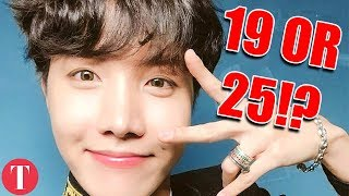 The Real Names And Ages Of BTS Members
