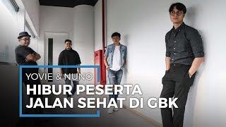 Yovie & Nuno Hibur Peserta 'Jalan Sehat Keluarga' di GBK