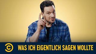 Was Ich Eigentlich Sagen Wollte | S01E01 | Comedy Central Deutschland